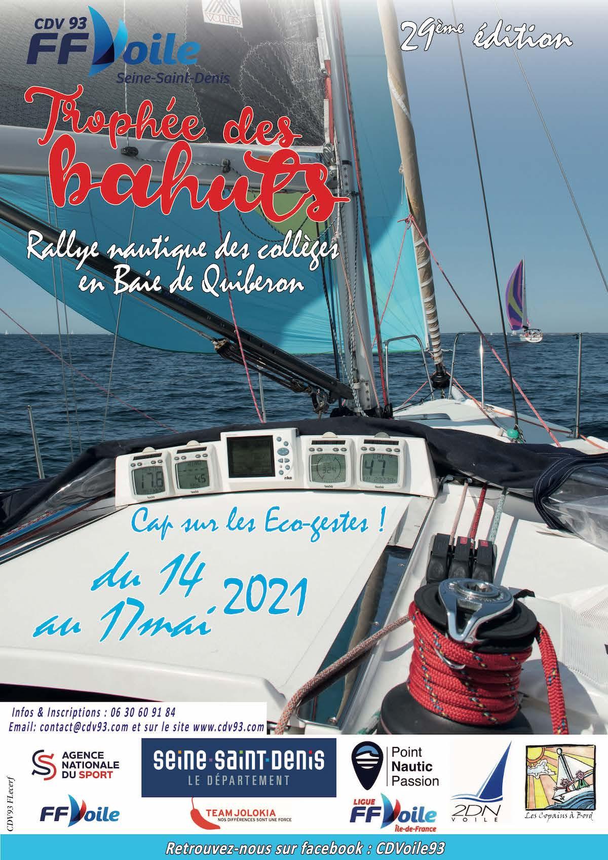 TROPHÉE DES BAHUTS | Rallye Régate des collèges | Cap sur les Éco-gestes ! | Du 13 au 16 mai 2022