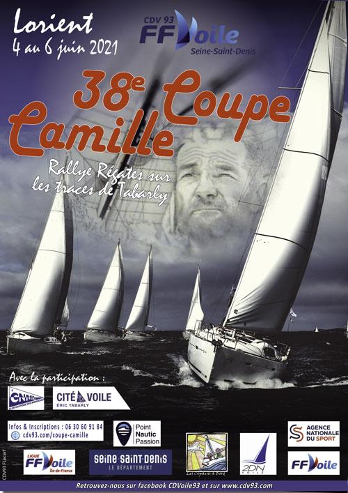 COUPE CAMILLE   Régate InterClubs Lorient  proposée par 2DN/CDV93   DU 4 AU 6 JUIN 2021